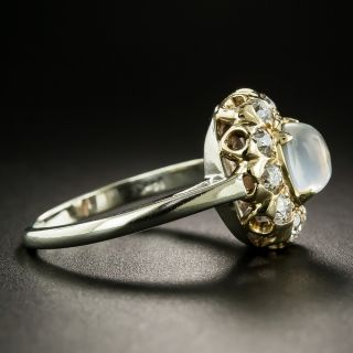 Early 20th Century Moonstone Diamond Ring