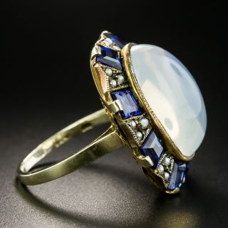 Early 20th Century Moonstone Ring