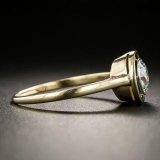 Early Art Deco .85 Carat Diamond Engagement Ring