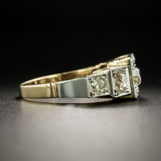 Early-Art Deco Five-Stone Diamond Ring