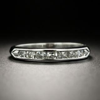 Early Mid-Century Diamond Wedding Band - 3