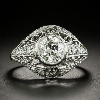 Edwardian 1.35 Carat Diamond Engagement Ring - Size 6 1/4 - 2