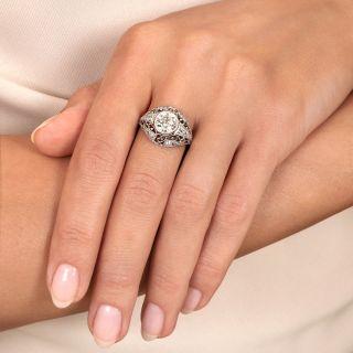 Edwardian 1.35 Carat Diamond Engagement Ring - Size 6 1/4