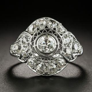 Edwardian .40 Carat Diamond Engagement Ring - 2