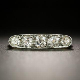 Edwardian 5-Stone Diamond Ring - 2