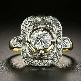 Edwardian .58 Carat Diamond Ring  - 3
