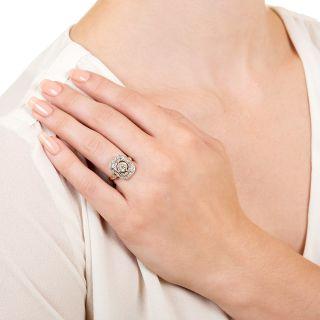 Edwardian .58 Carat Diamond Ring