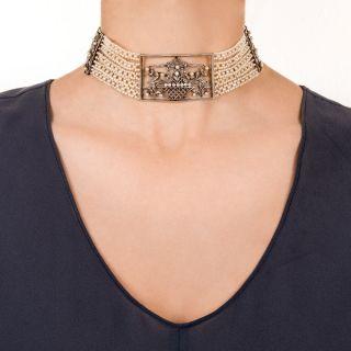 Edwardian Choker Collar Necklace