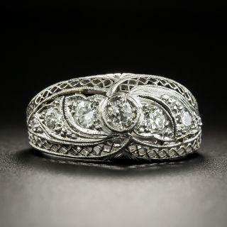 Edwardian Diamond Band Ring by Gorham - 2