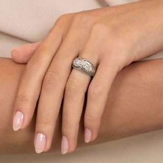 Edwardian Diamond Band Ring by Gorham