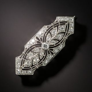 Edwardian Diamond Brooch by Pickslay & Co - 2