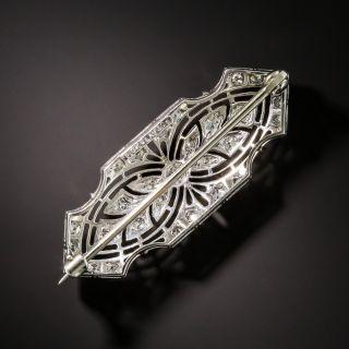 Edwardian Diamond Brooch by Pickslay & Co
