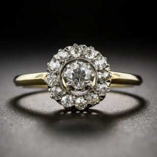 Edwardian Diamond Cluster Ring - 1