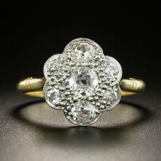Edwardian Diamond Cluster Ring - 2