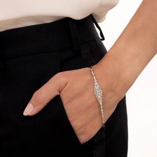 Edwardian Diamond Link Bracelet, Netherlands