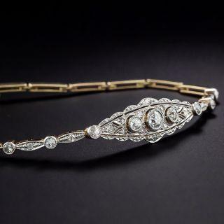 Edwardian Diamond Link Bracelet, Netherlands - 1