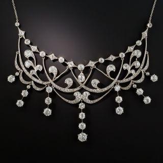 Edwardian Diamond Necklace - 1