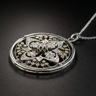 Edwardian Diamond Openwork Necklace