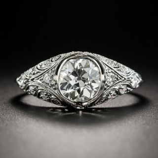 Edwardian 1.25 Carat Diamond Ring by Henry Blank & Sons - 2