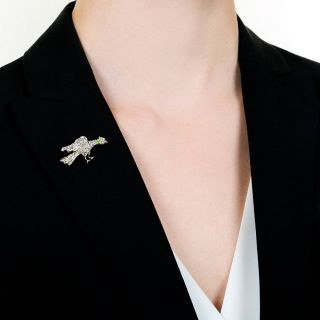 Edwardian Game Bird Stickpin