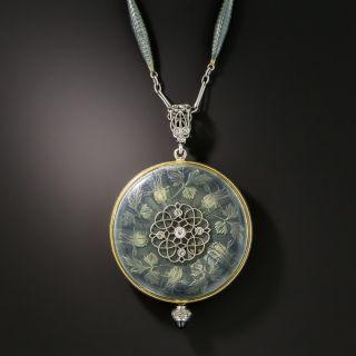 Edwardian Longines Pendant Watch Necklace - 1