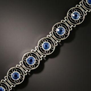 Edwardian Montana Sapphire Bracelet - 3