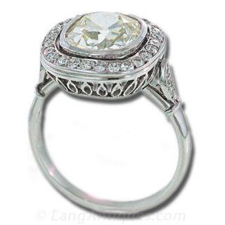 Edwardian Style Ladies Diamond Ring