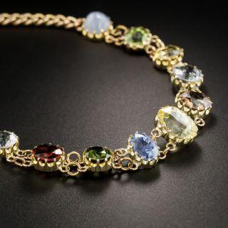 English Edwardian Multi-Gemstone Bracelet
