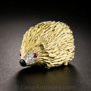 English Hedgehog Pin