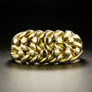 English Knot Keeper Ring - 1916 - 2