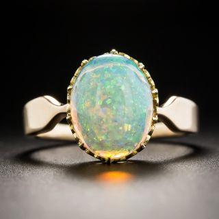 English Victorian Opal Ring