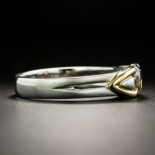 Estate 1.02 Carat Natural Brown Diamond Engagement Ring