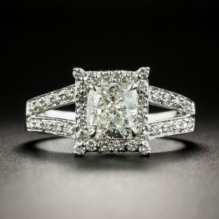 Estate 1.09 Carat Cushion-Cut Diamond Engagement Ring - 1