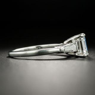Estate 1.17 Carat Emerald-Cut Diamond Engagement Ring - GIA I VVS2