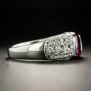 Estate 1.20 Carat Ruby and Diamond Ring