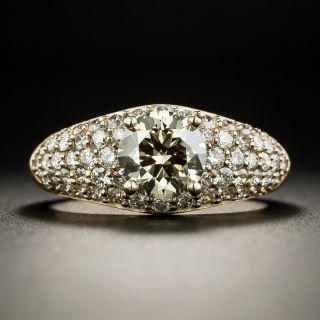 Estate 1.24 Carat Fancy Dark Brown Diamond Engagement Ring - GIA - 2