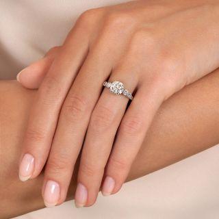 Estate 1.52 Carat Diamond Engagement Ring - GIA K SI2