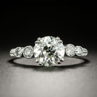 Estate 1.52 Carat Diamond Engagement Ring - GIA K SI2 - 2
