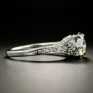 Estate 1.74 Carat Diamond Engagement Ring - GIA