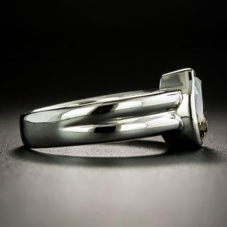Estate 1.80 Carat Natural Brown Pear-Cut Diamond Engagement Ring