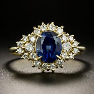 Estate 1.94 Carat Sapphire and Diamond Ring - 3