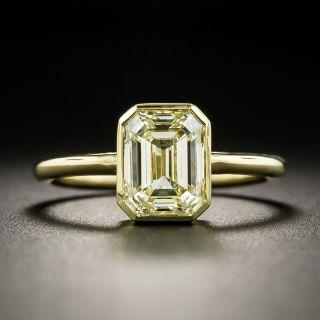 Estate 2.00 Carat Emerald-Cut Diamond Engagement Ring - 2