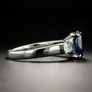 Estate 2.00 Carat No-Heat Sapphire and Diamond Ring