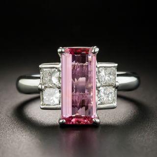 Estate 2.00 Carat Pink Sapphire and Diamond Ring - 1