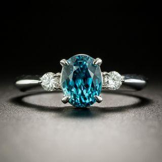 Estate 2.03 Carat Zircon and Diamond Ring - 2