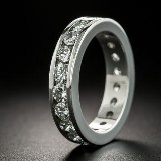 Estate 2.40 Carat Diamond Eternity Band - Size 5 3/4 - 2