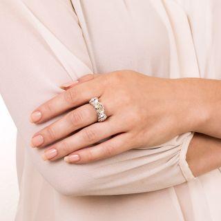 Estate 2.41 Carat Oval-Cut Diamond Ring