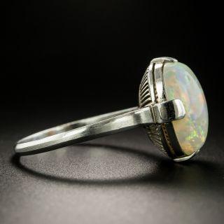 Estate 3.25 Carat Opal Cabochon Ring