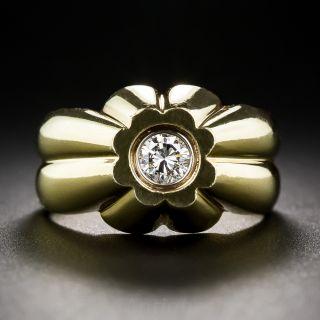 .35 Carat Gent's Diamond Ring in 18K - 1