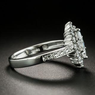 Estate .40 Carat Marquise-Cut Diamond Engagement Ring